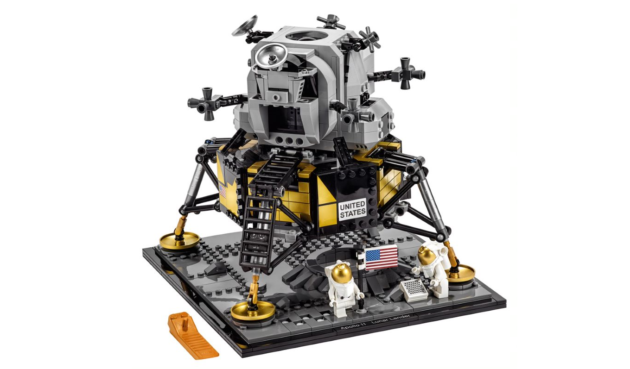 LEGO Celebrates the Moon Landing With 1,087-Piece NASA Apollo 11 Set