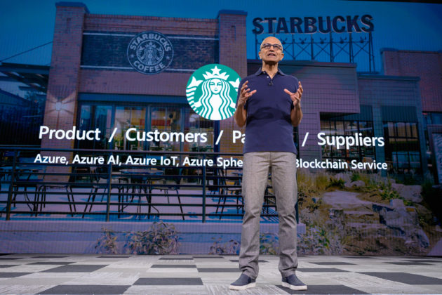 Starbucks กำลังทำงานกับ Microsoft พัฒนาแพลตฟอร์มติดตามกาแฟด้วยบล็อกเชน