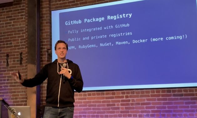 GitHub adds Package Registry, which allows GitHub users to publish