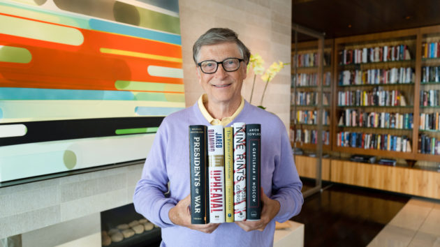 Bill Gates picks his 5 top summer reads for 2019, with no shortage of heavy topics