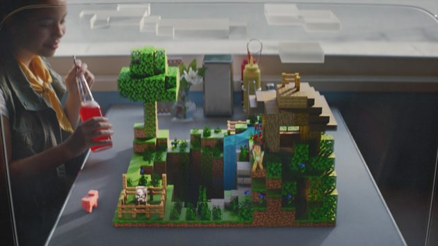 Look out, Pokémon Go: Microsoft unveils new Minecraft Earth