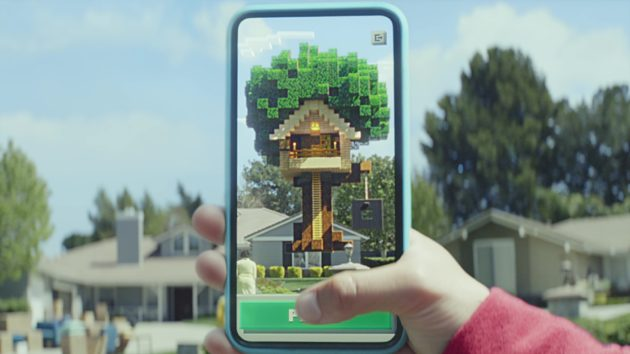 Pokemon GO-Style Augmented Reality Game Minecraft Earth Announced