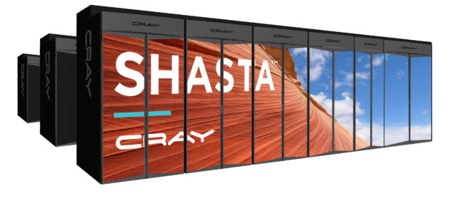 Cray Shasta supercomputing