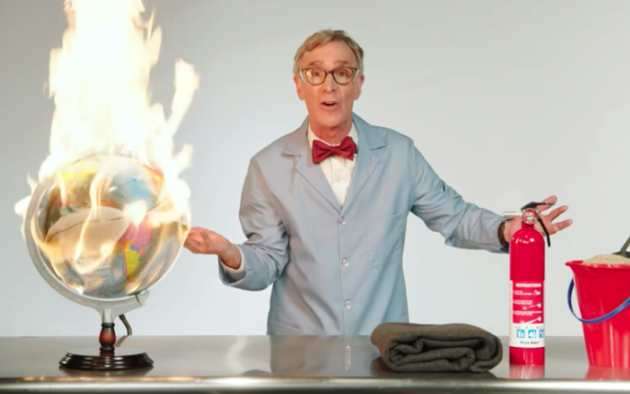 Bill Nye goes on expletive-filled rant about climate change