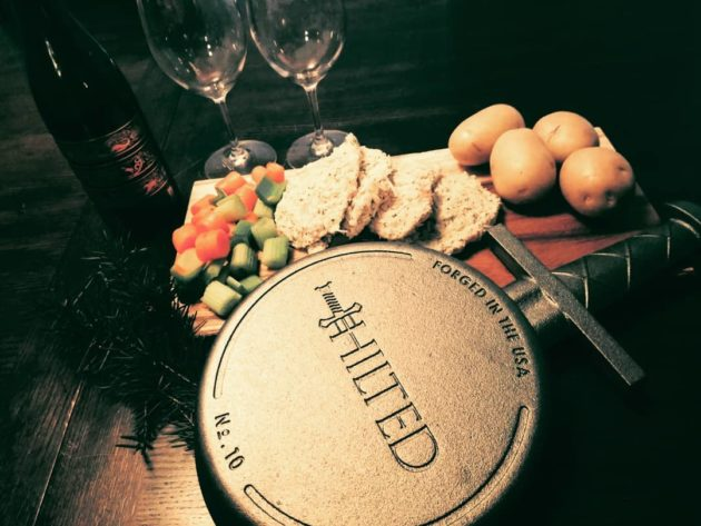 Assume the (cast) Iron Throne in your kitchen with a Seattle-born skillet inspired by 'Game of