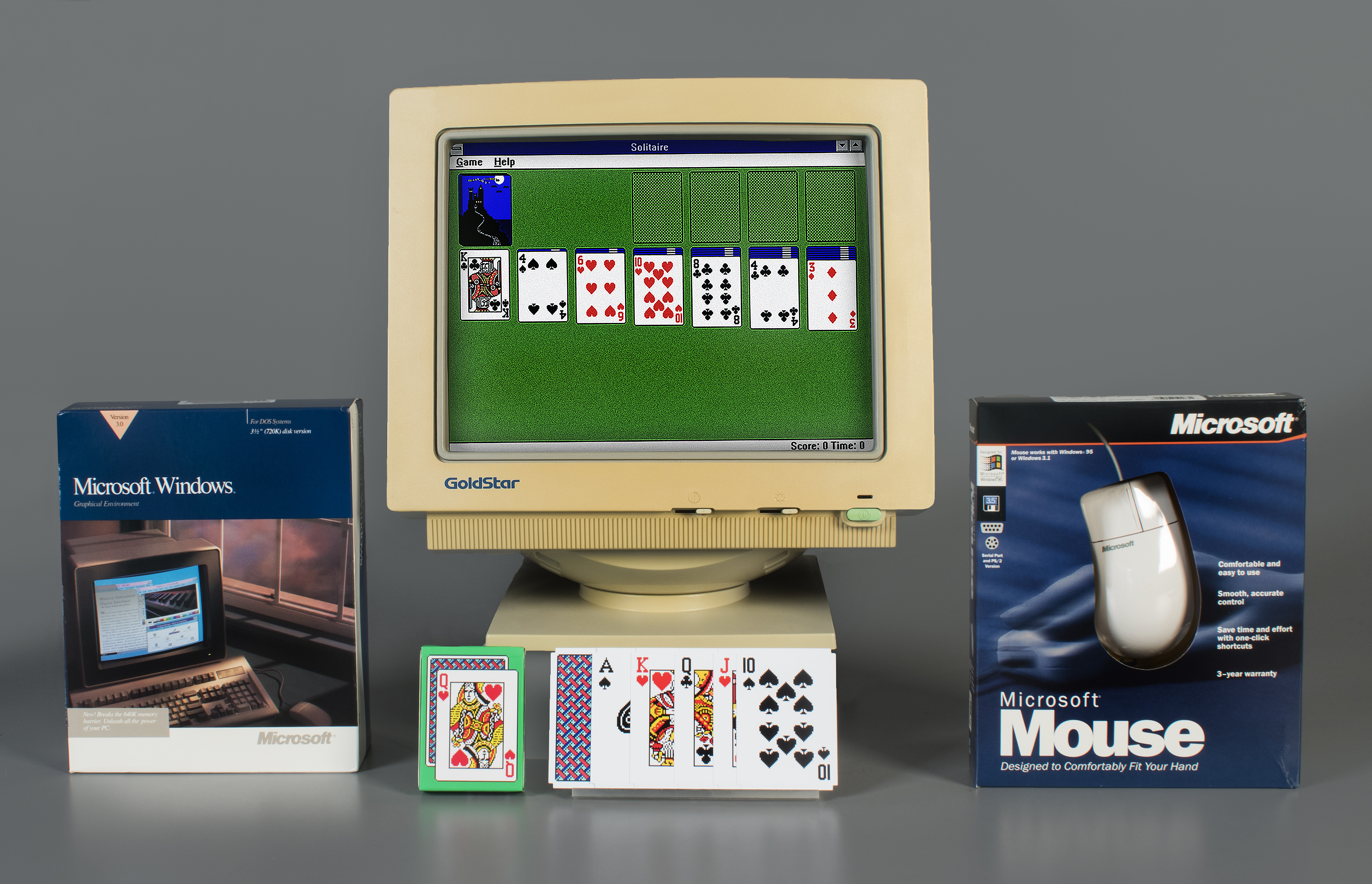 Microsoft Solitaire,' which debuted on Windows 3.0 in 1990 ...