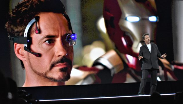 Robert Downey Jr. wants nanotech, robotics to save the planet IRL
