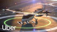 Uber air taxi concept