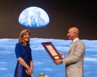 Caroline Kennedy and Jeff Bezos