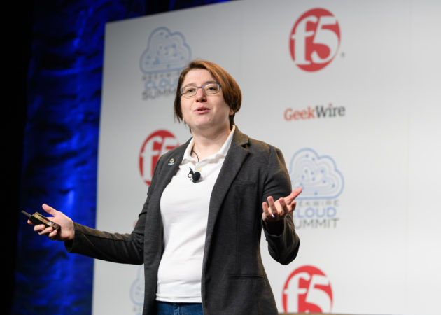 Nell Shamrell-Harrington - GeekWire Cloud Summit 2019