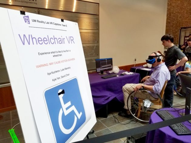 UW student virtual reality projects demonstrate empathy, education, entertainment use cases