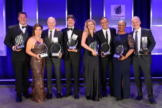 Voici les lauréats du prix Entrepreneur de l'année 2019 d'EY pour la région Nord-Ouest du Pacifique – Newstrotteur 20190614 EY EOY Gala 427 630x420