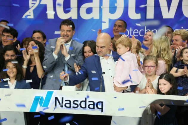 Adaptive biotechnologies takes flight in ipo debut