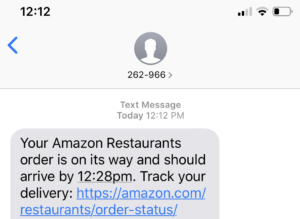 As Amazon bows out of competitive restaurant delivery market