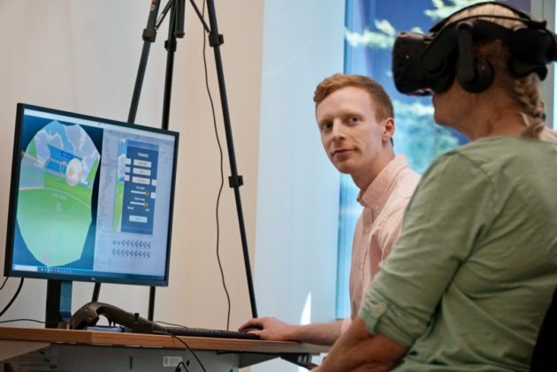 VR therapy: Veterans use virtual reality to tackle phantom pain in amputated limbs