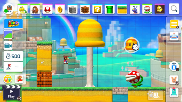 Super Mario Maker 2' for Nintendo Switch gets promising