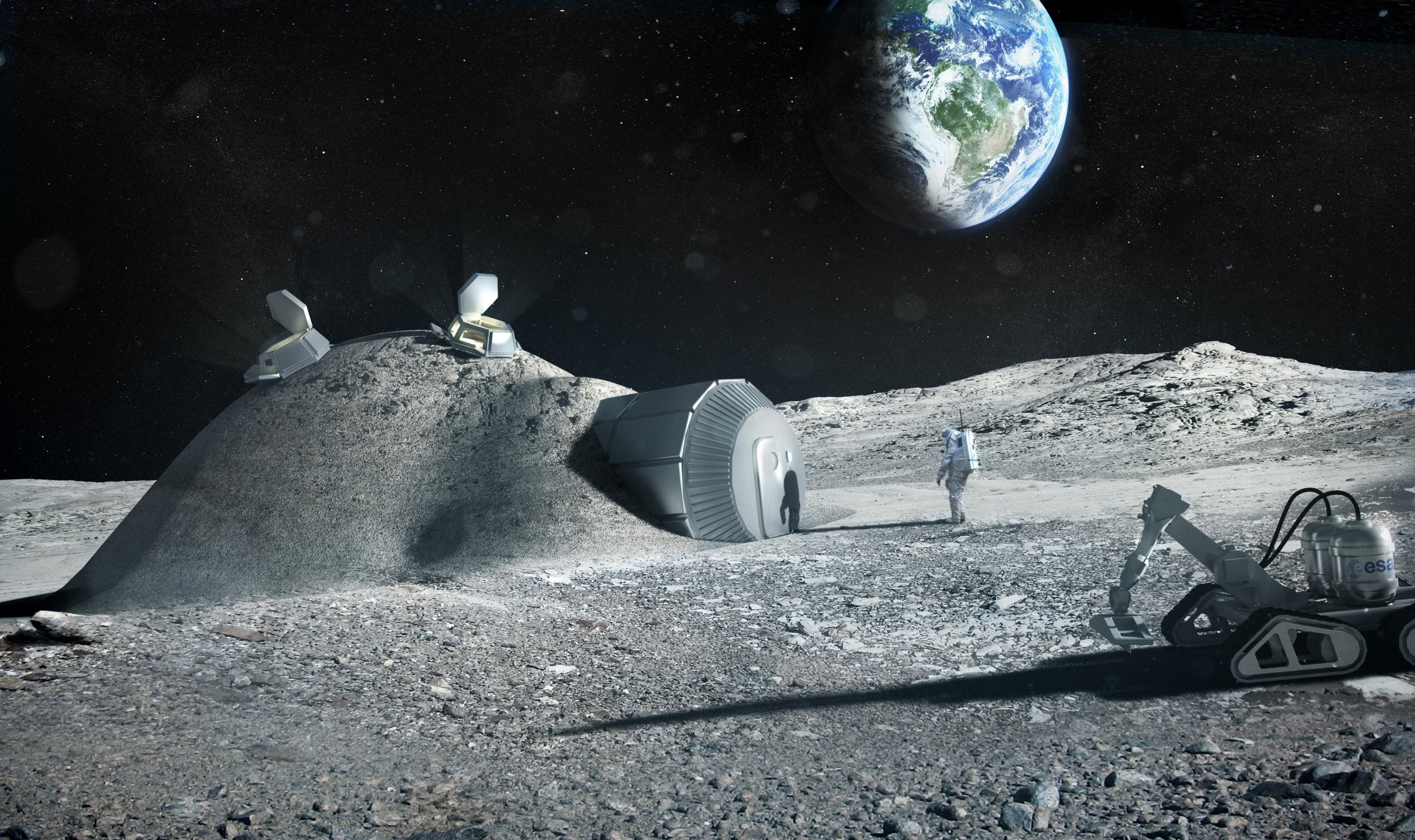 The moon in 2069: Space officials share their visions for lunar lifestyles  - GeekWire