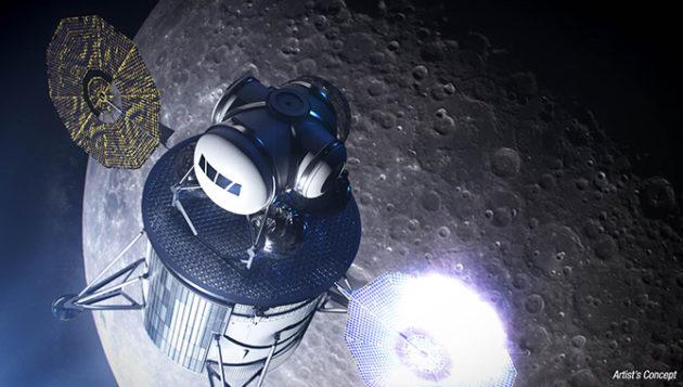 La NASA et l'Armée de l'air s'engagent dans des projets commerciaux pour une nouvelle course à l'espace – Newstrotteur 190716 moonlander 630x357