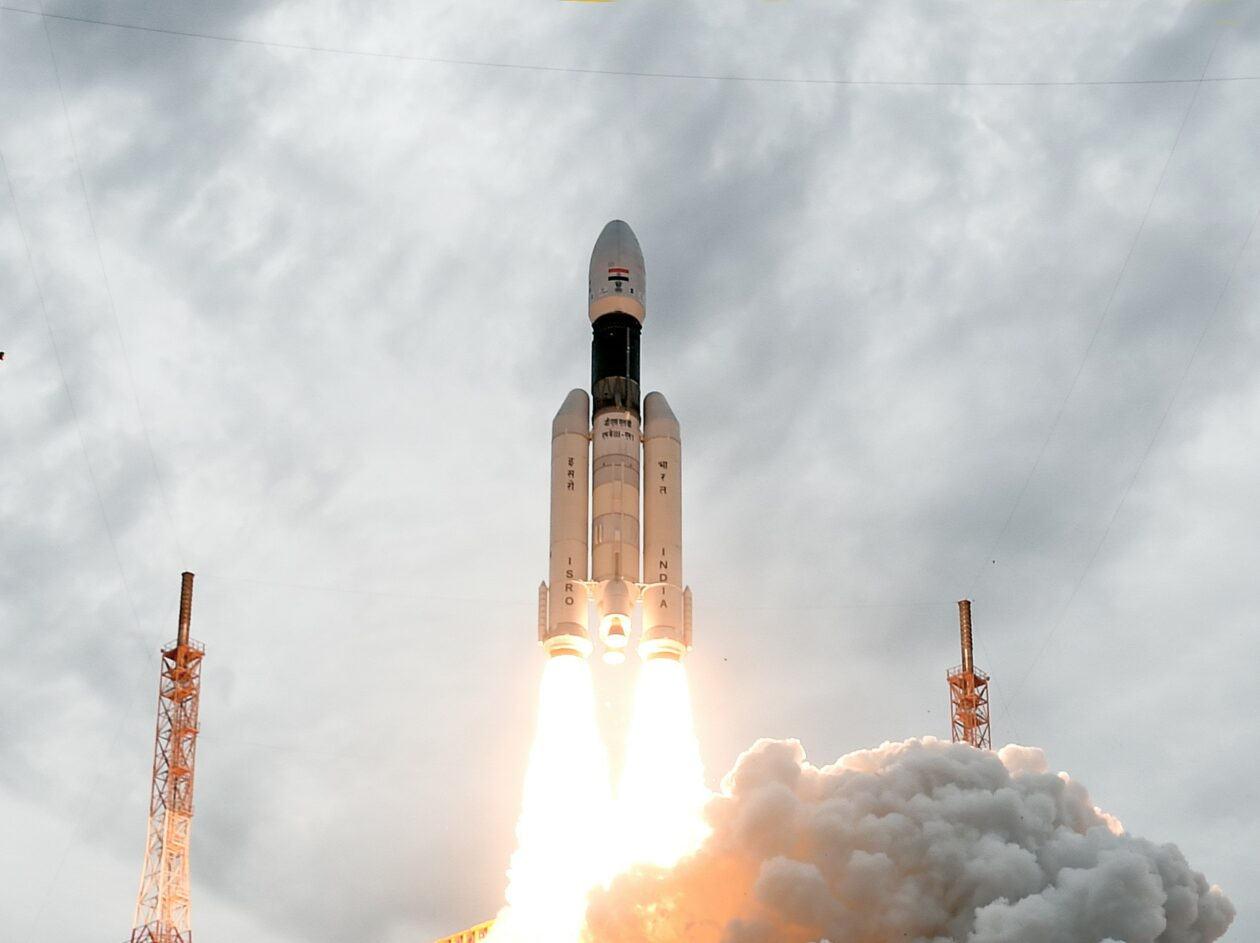 India sends Chandrayaan 2 probe toward the moon for historic