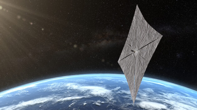 U.S. spacecraft's solar sail successfully deploys