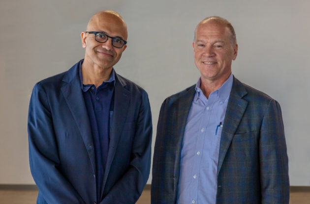 Microsoft beats estimates on growth of cloud services