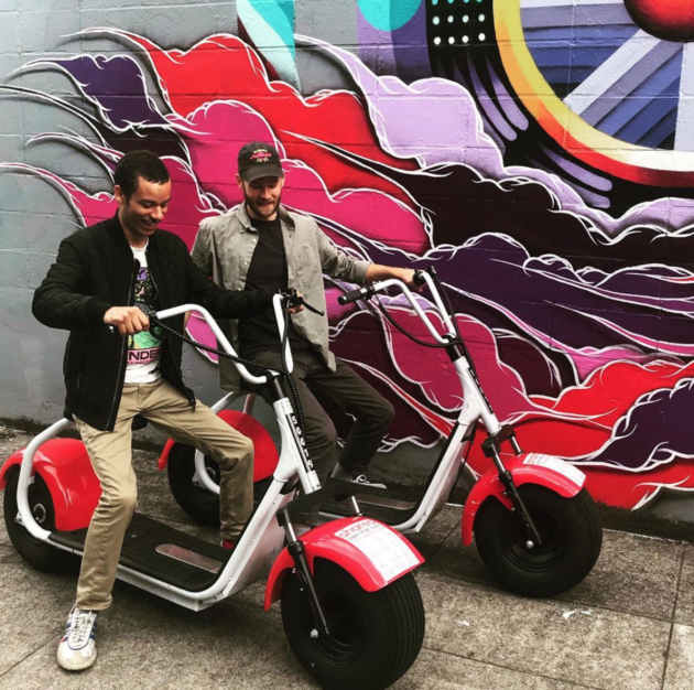 Seattle's Shared unveils a moped-like e-vehicle for ride sharing – and plans to make it self-driving