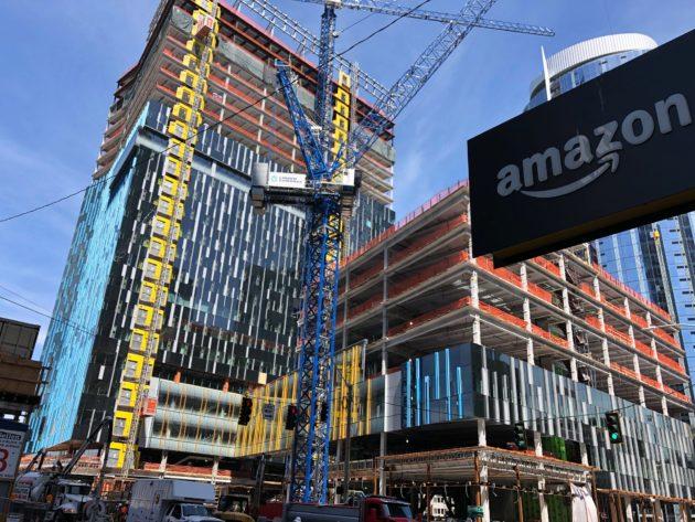 Amazon va construire sa plus haute tour à Bellevue et poursuit sa croissance rapide en dehors du siège de Seattle – Newstrotteur amazonHQ 630x473
