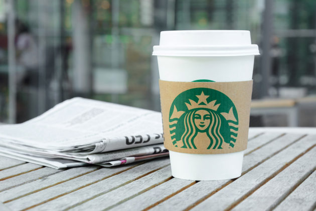 Want a paper with your Starbucks coffee? Bring your own