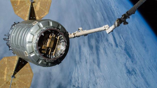 Cygnus departure