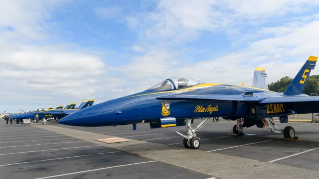 Aviation geeks will see new twists when Blue Angels soar at
