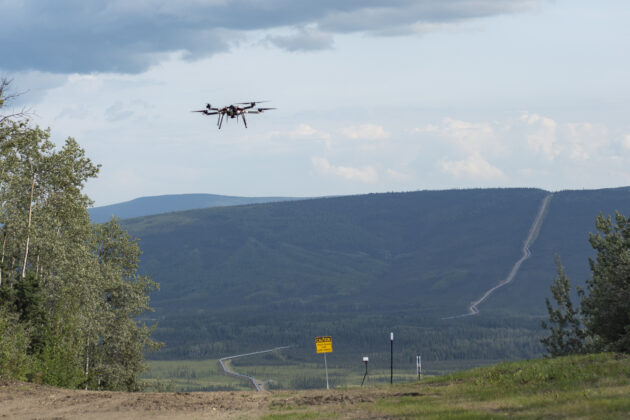 Echodyne plays role in a pioneering flight of a drone on its