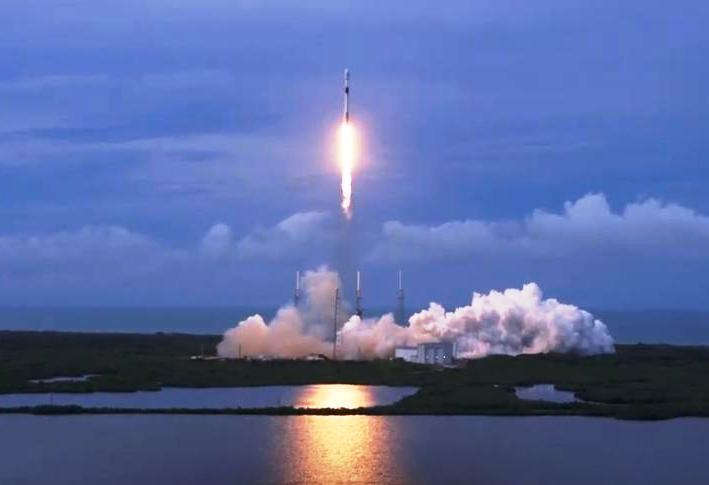 A rush of rockets: SpaceX Falcon 9 puts Israeli satellite in orbit