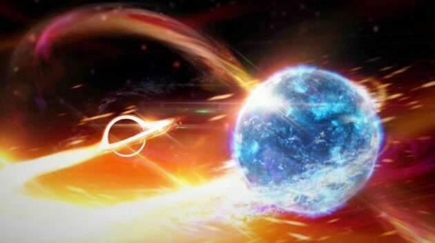 Has LIGO detected its first smash-up of black hole and neutron star? Stay tuned