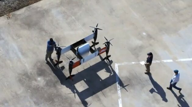 Bell's self-flying cargo drone completes its first flight