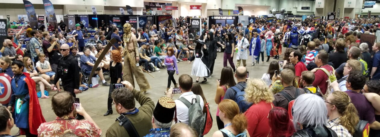 The annual Gen Con cosplay parade