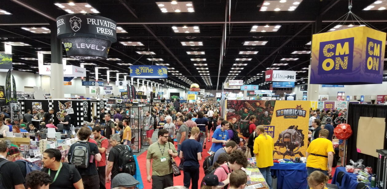 The main Expo Hall at Gen Con