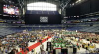 Lucas Oil Stadium, home of the Indianapolis Colts, has been taken over by Gen Con events