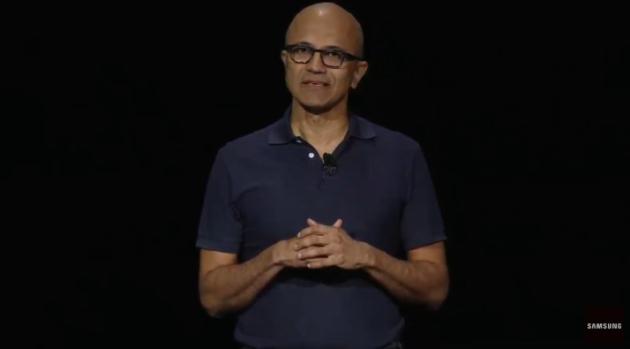C'est pourquoi le PDG de Microsoft, Satya Nadella, s'est présenté sur la scène du grand événement de Samsung – Newstrotteur Screen Shot 2019 08 07 at 2