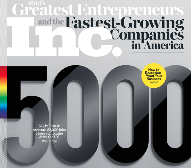 Inc 5000 List Of Fastest Growing Private Companies Features Strong Showing From Washington Geekwire