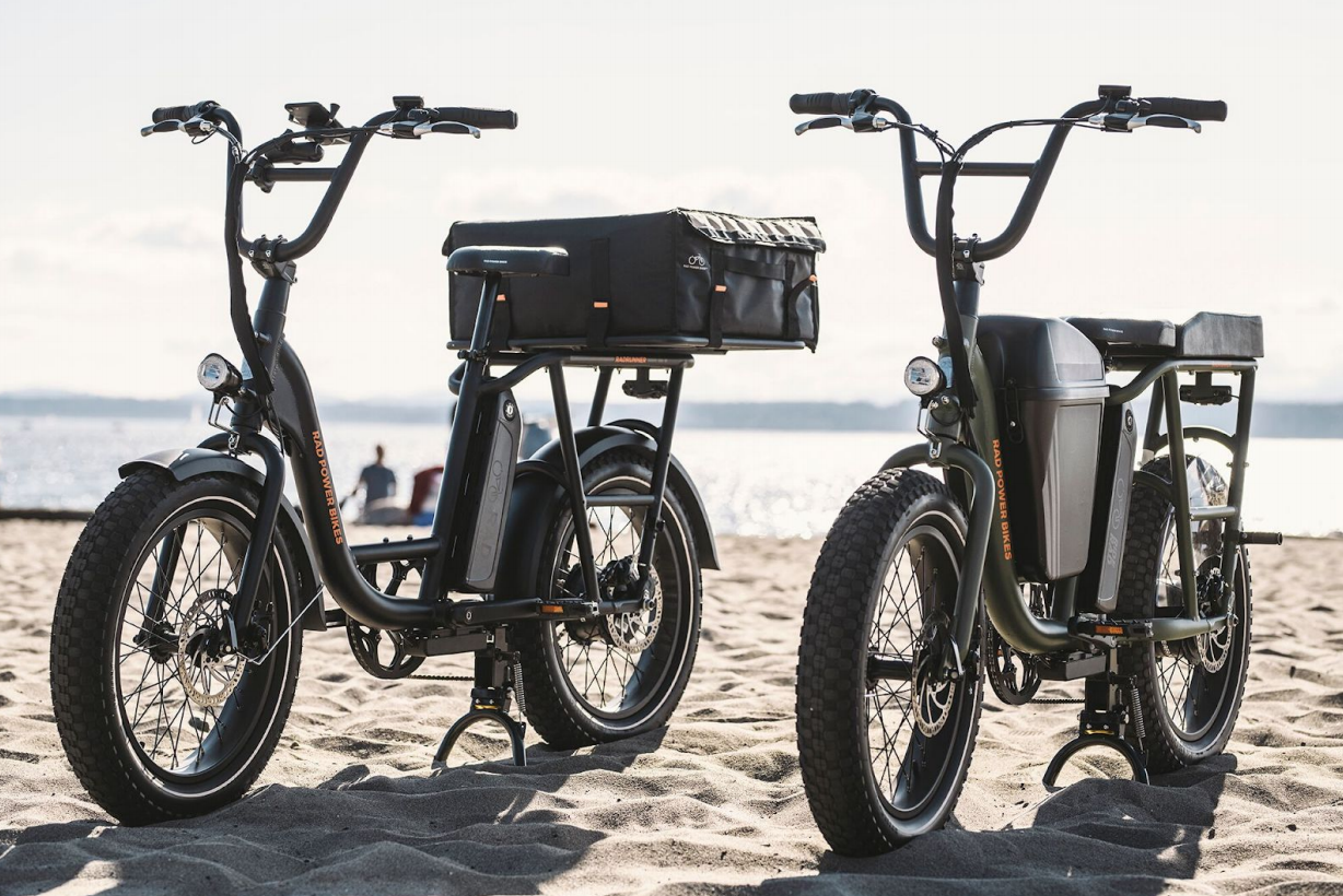 Fresh off Domino's delivery partnership, Rad Power Bikes rolls out new $1,299 'RadRunner' cruiser