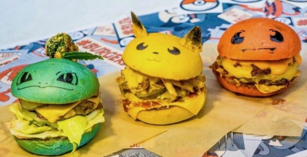 PokéBar, a Pokémon pop-up with Pikachu burgers and more, is coming to Seattle next year