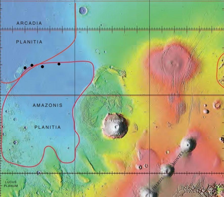 Arcadia Mars map