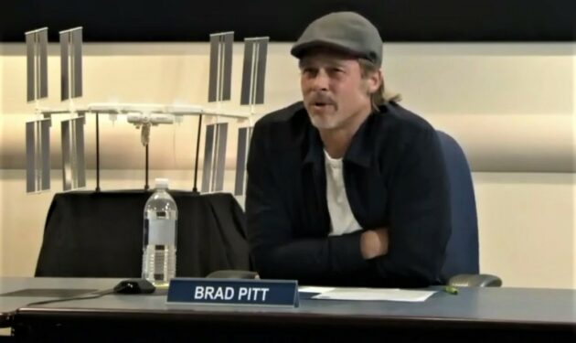 Brad Pitt: 'Donald Trump is a threat'