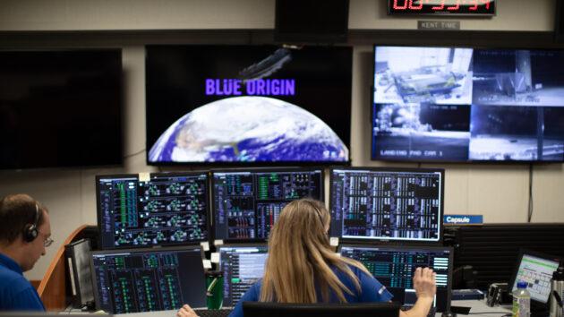 Blue Origin control room