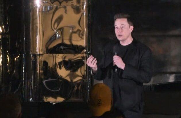 Elon Musk at Starship