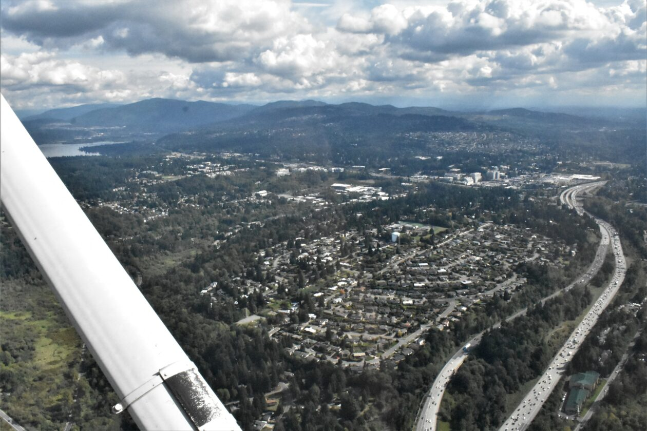 Bellevue aerial photo