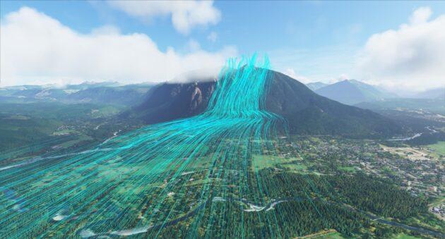 Wind simulation