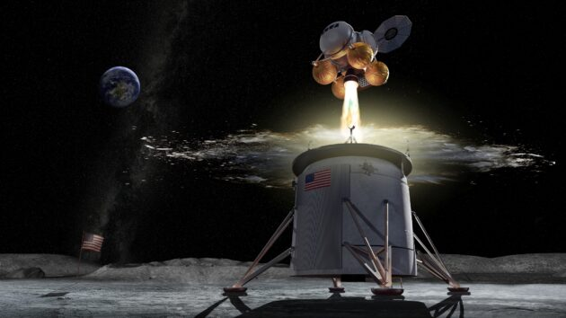 NASA issues its fast-track plan to get two commercial lunar landers built by 2025