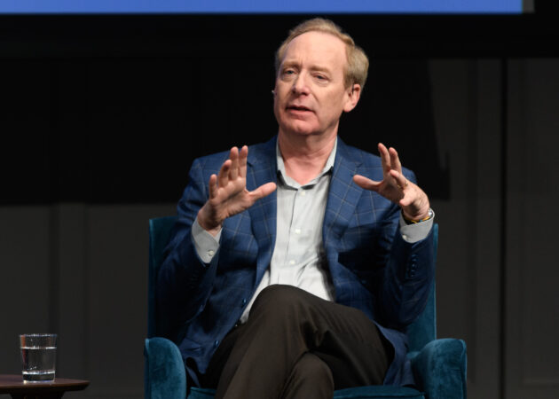 Microsoft President Brad Smith calls for AI regulation at Davos