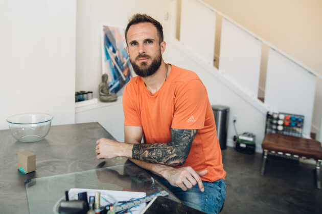 Seattle Sounders goalie Stefan Frei saves some passion for off the pitch with art and tech pursuits